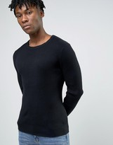 Selected Ribbed Jumper