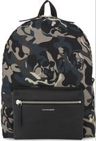 Alexander McQueen Nylon camouflage backpack