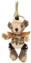 Burberry Shoes & Accessories Stud Embellished Thomas Bear Cashmere Key Charm