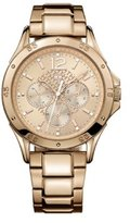 Tommy Hilfiger Rose Gold Dial Rose Gold Stainless Steel Ladies Watch 1781322