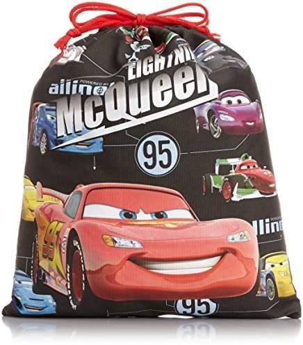 Disney (ディズニー) - [ディズニーバッグ] DISNEY BAG CARS シリーズ 巾着(大) D1072 ブラック (ブラック)