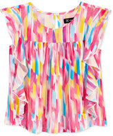 INC International Concepts Popsicle Collection Painted Ruffle Top, Toddler & Little Girls (2T-6X), Only at Macy's