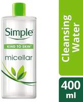 Simple Kind To Skin Micellar Cleansing Water 400ml