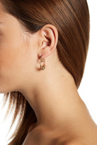 Joe Fresh Beaded Double Hoop Earrings