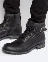 Jack and Jones Albany Leather Boots