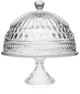 Godinger Symphony Footed Domed Covered Cake Plate