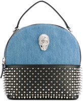 Philipp Plein Desert Hills backpack - women - Cotton/Leather/Polyester - One Size