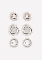 Bebe Versatile Stud Earring Set