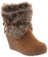 BearPaw Women's Penelope Mid Calf Wedge Boot