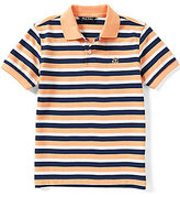 Brooks Brothers Little/Big Boys 4-20 Double-Stripe Pique Polo Shirt
