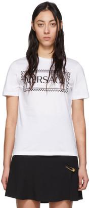 Versace White 90s Logo T-Shirt