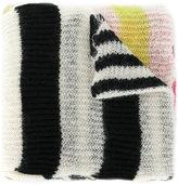 McQ striped scarf
