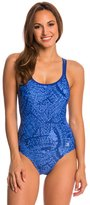 Champion Women's Micro Wings Basketweave Strap One Piece Swimsuit 8137198