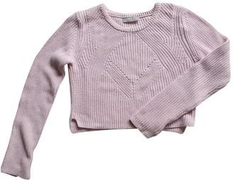 Romeo Gigli Pink Cotton Knitwear for Women