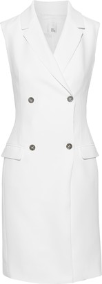 Iris & Ink Laurel Double-breasted Cady Tuxedo Dress
