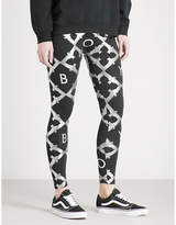 Boy London Echo eagle-print cotton-jersey leggings
