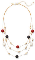 New York & Co. 3-Row Illusion Necklace