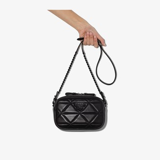 Prada Black Quilted Leather Camera Bag