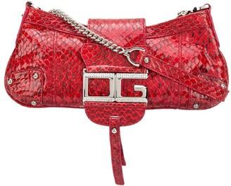 Dolce & Gabbana Snakeskin Leather Shoulder Bag