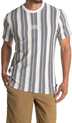 Vans Maxwell Stripe Print T-Shirt