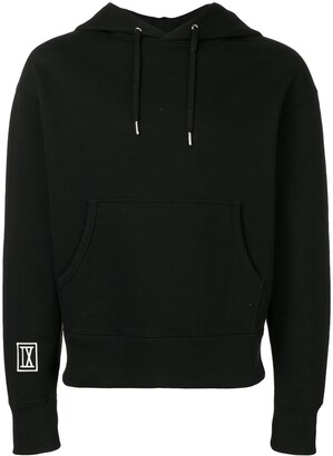 Ami Paris hoodie with 9 patch