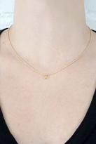 Gorjana Alphabet Necklace in Gold