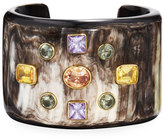 Ashley Pittman Mwali Dark Horn Cuff Bracelet
