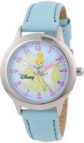 Disney Kids' W000075 Tinker Bell Stainless Steel Time Teacher Watch