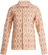 Marni Embroidered-eyelet taffeta jacket