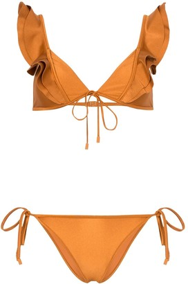Zimmermann Amari frill bikini