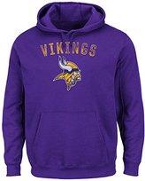 "Majestic Minnesota Vikings NFL ""Kick Return"" Hooded Sweatshirt - XL"