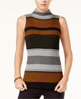 Sanctuary Vivienne Striped Mock-Neck Knit Top
