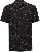 Globe Black Triangle Print Short Sleeve Shirt*