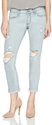 James Jeans Women's Neo Beau Slim Fit Boyfriend Jean in Crossroads 26
