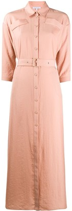 Patrizia Pepe Maxi Shirt Dress