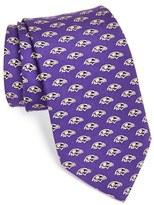 Vineyard Vines Men's 'Baltimore Ravens - Nfl' Woven Silk Tie