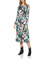 Glamorous Women's Long Sleeve MIDI Dress