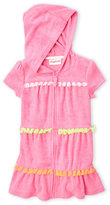 Flapdoodles Toddler Girls) Terry Hoodie Cover-Up