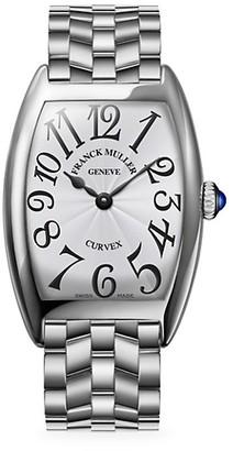 Franck Muller Cintree Curvex Stainless Steel Bracelet Watch