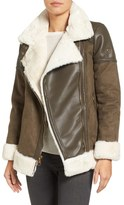 MICHAEL Michael Kors Women's Faux Shearling Jacket