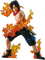Asstd National Brand One Piece Three Brothers of Flame Attack Styling, Portgas D Ace