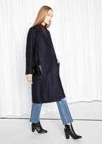Other Stories Oversized Wool Coat