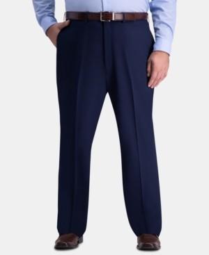 Haggar J.m. Men's Big & Tall Classic-Fit Stretch Flat-Front Dress Pants