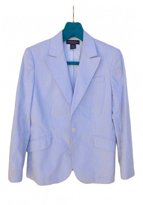 Brooks Brothers White Cotton Jacket for Women
