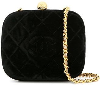 Chanel Pre-Owned 1994-1996 diamond quilted shoulder bag