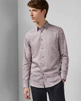 Ted Baker LAMBIE Floral print cotton shirt