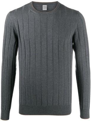 Eleventy Fine-Knit Ribbed Wool Jumper
