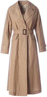 Max Mara The Cube Belted Trench Coat