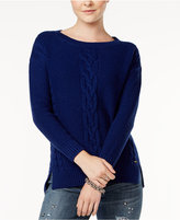 Tommy Hilfiger Mara Cable-Knit Sweater, Only at Macy's