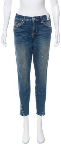 Amo Twist Mid-Rise Jeans w/ Tags